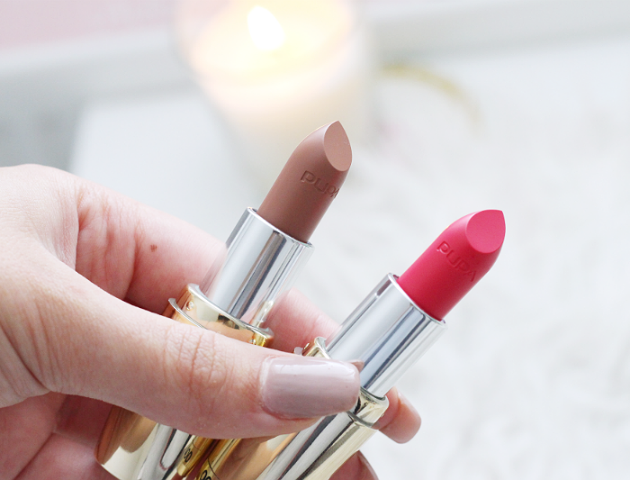 Pupa Soft & Wild Lipsticks