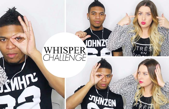 Whisper challenge | met Dwayne!