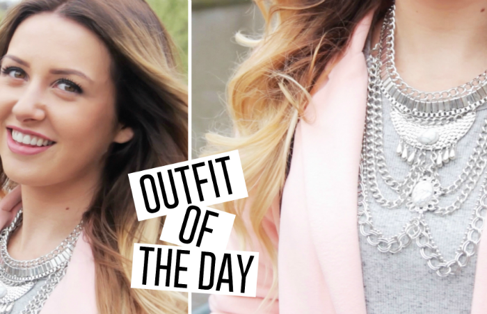 Outfit of the day | Pastel pink