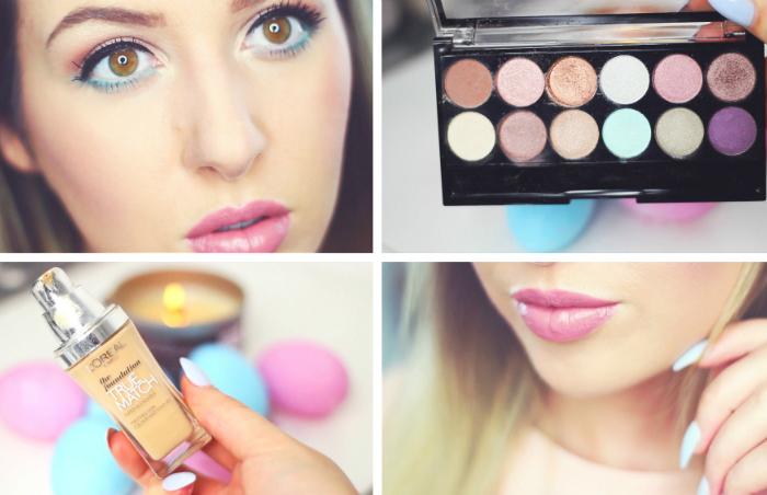 Paas make-up look