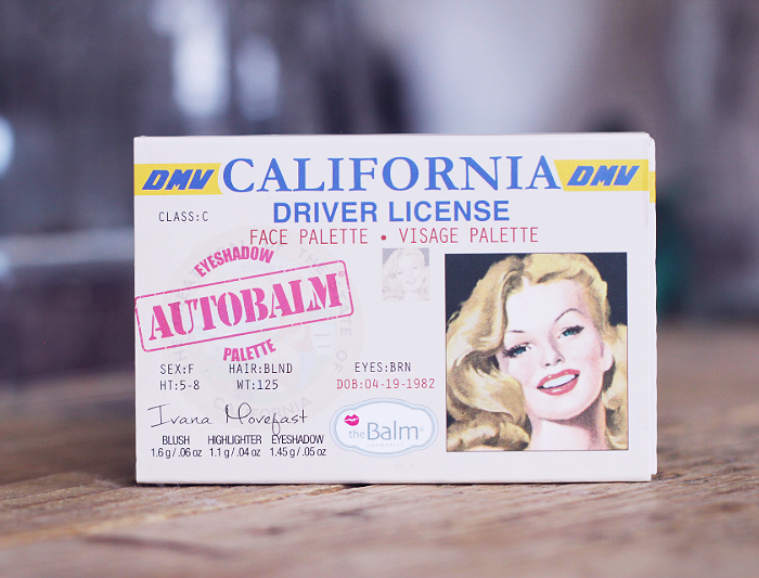 The Balm Autobalm California Face Palette