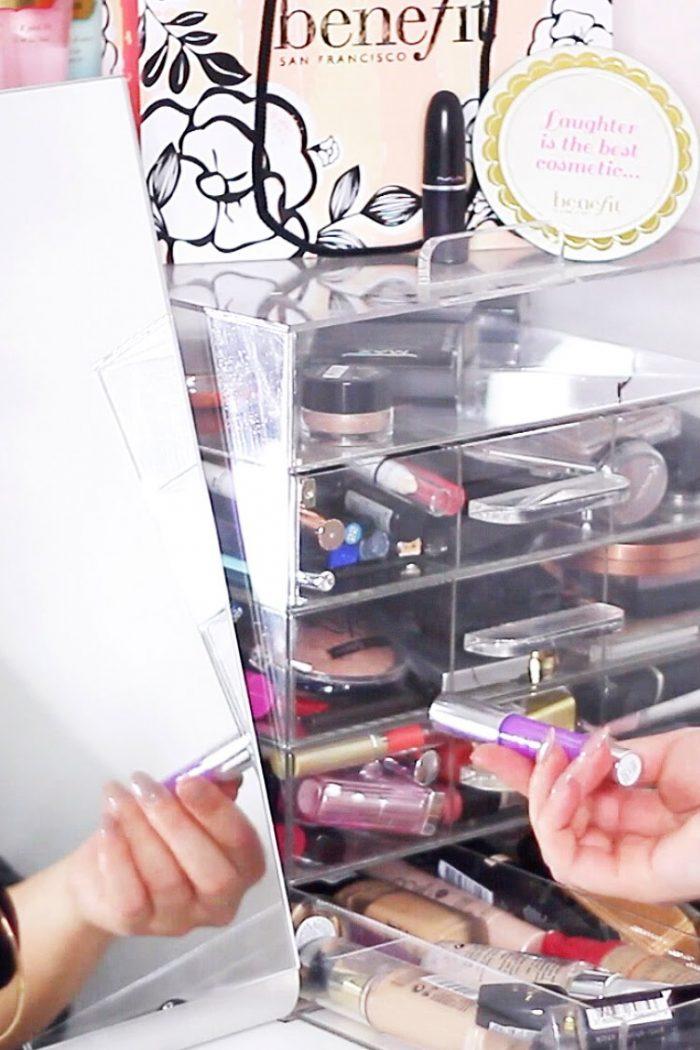 Make-up stash opruimen